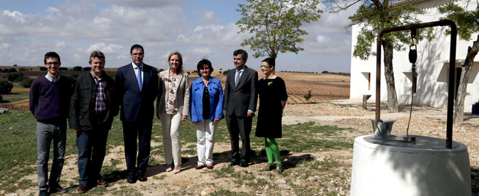 Carmen Casero visita Finca Antigua