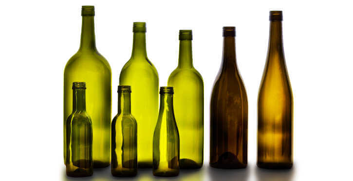 The history of wine bottle size