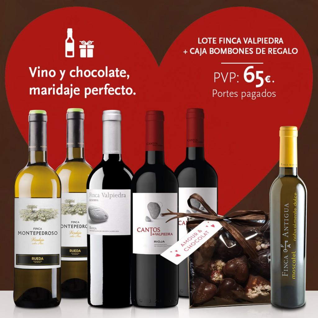 En San Valentín, vino y chocolate, maridaje perfecto